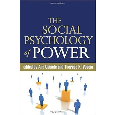 The Social Psychology of Power, New Book (9781606236192)
