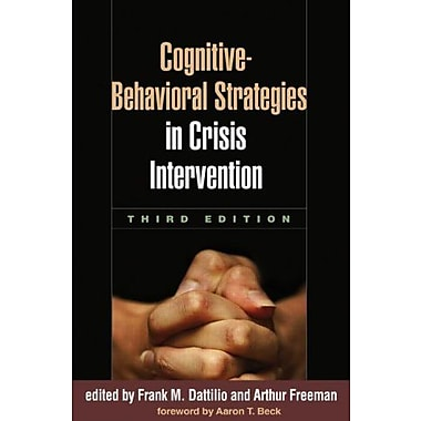 Cognitive-Behavioral Strategies in Crisis Intervention, Third Edition, New Book (9781606236482)
