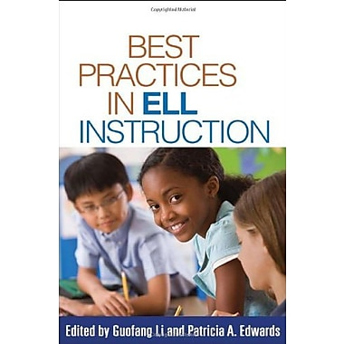 Best Practices in ELL Instruction (Solving Problems in the Teaching of Literacy), New Book (9781606236628)