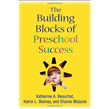The Building Blocks of Preschool Success, New Book (9781606236932)