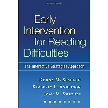 Early Intervention for Reading Difficulties: The Interactive Strategies Approach (9781606238530), New Book