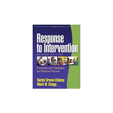 Response to Intervention, Second Edition: Principles and Strategies for Effective Practice, New Book (9781606239230)