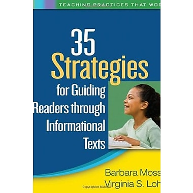 35 Strategies for Guiding Readers through Informational Texts (Teaching Practices That Work), New Book (9781606239261)