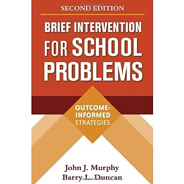Brief Intervention for School Problems, Second Edition: Outcome-Informed Strategies, New Book (9781606239308)
