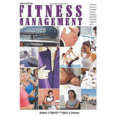 Fitness Management, New Book (9781606792155)