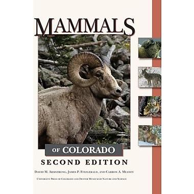 Mammals of Colorado, Second Edition, New Book (9781607320470)