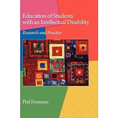 Education of Students with an Intellectual Disability: Research and Practice (Hc), New Book (9781607522157)