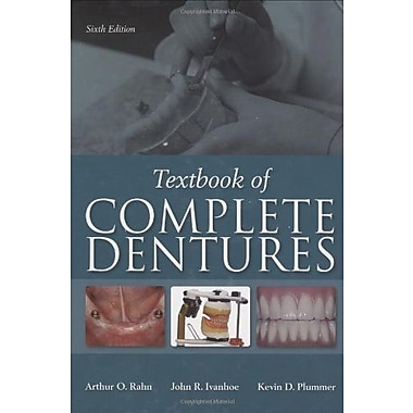 Textbook of Complete Dentures, 6th Edition, New Book (9781607950257)