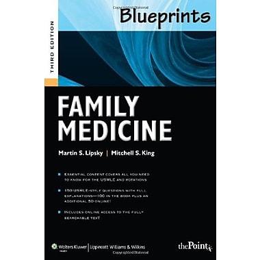Blueprints Family Medicine, 3rd Edition (Blueprints Series), New Book (9781608310876)