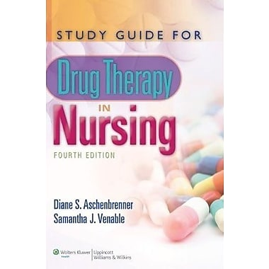 Study Guide for Drug Therapy in Nursing, New Book (9781608311521)