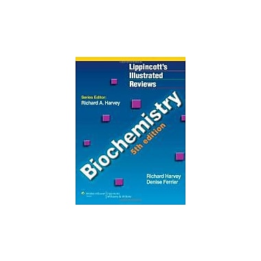 Biochemistry (Lippincott Illustrated Reviews Series), New Book (9781608314126)