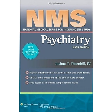NMS Psychiatry (National Medical Series for Independent Study), New Book (9781608315741)