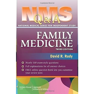 NMS Q&A Family Medicine (9781608315772), New Book