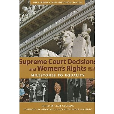 Supreme Court Decisions and Womens Rights, New Book (9781608714070)