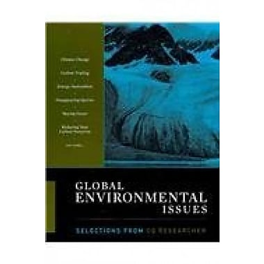 Global Environmental Issues: Selections from The CQ Researcher, New Book (9781608714131)