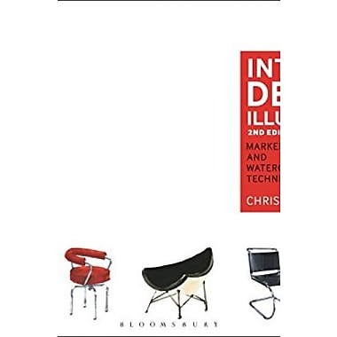 Interior Design Illustrated: Marker and Watercolor Techniques (International Critical Commentary), New Book (9781609019174)