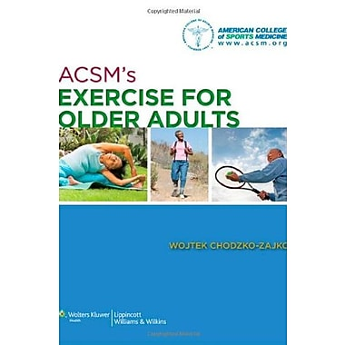 ACSM's Exercise for Older Adults, New Book (9781609136475)