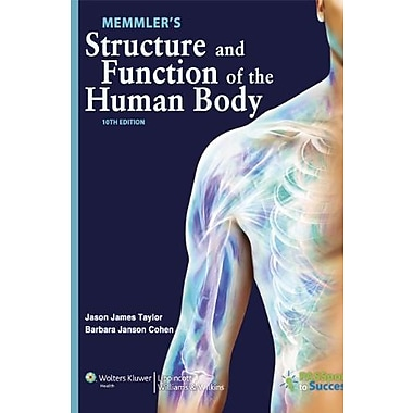 Memmler's Structure and Function of the Human Body,10th edition, New Book (9781609139025)