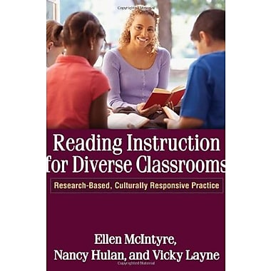 Reading Instruction for Diverse Classrooms: Research-Based, Culturally Responsive Practice, New Book (9781609180539)