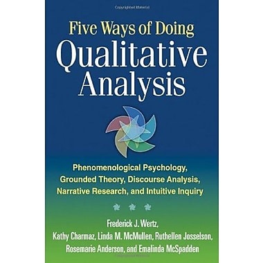 Five Ways of Doing Qualitative Analysis, Used Book (9781609181420)