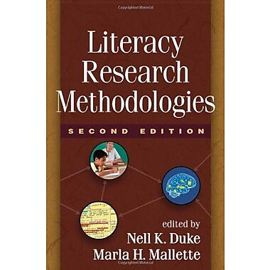 Literacy Research Methodologies, Second Edition, New Book (9781609181628)