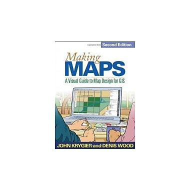 Making Maps, Second Edition: A Visual Guide to Map Design for GIS, New Book (9781609181666)