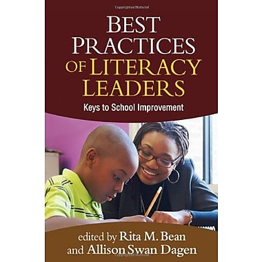 Best Practices of Literacy Leaders: Keys to School Improvement, New Book (9781609189419)