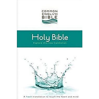CEB Common English Thinline Bible Softcover, New Book (9781609260156)