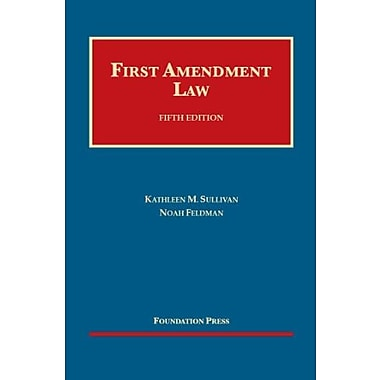 First Amendment Law, 5th (University Casebook Series) (English and English Edition), New Book (9781609302528)