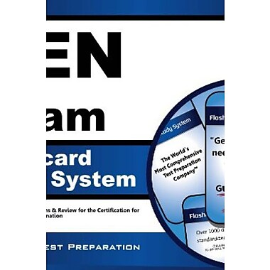 CEN Exam Flashcard Study System, Used Book (9781609713003)