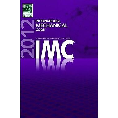 2012 International Mechanical Code, New Book (9781609830519)