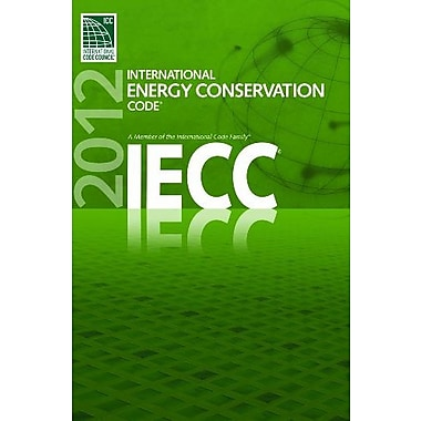 2012 International Energy Conservation Code, New Book (9781609830588)