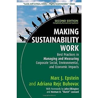 Making Sustainability Work, Used Book