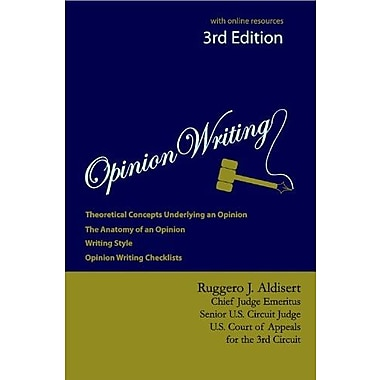 Opinion Writing 3rd Edition, New Book (9781611631234)