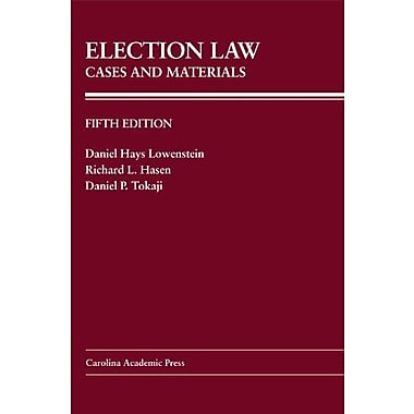 Election Law: Cases And Materials, New Book (9781611631784)