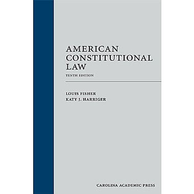 American Constitutional Law, Tenth Edition, New Book (9781611633528)