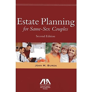 Estate Planning for Same-Sex Couples, New Book (9781614383239)