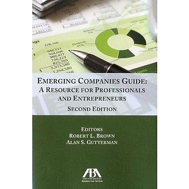 Emerging Companies Guide: A Resource for Professionals and Entrepreneurs, New Book (9781616328313)