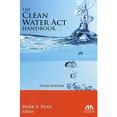 The Clean Water Act Handbook, New Book (9781616329693)