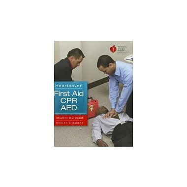 Heartsaver First Aid CPR AED Student Workbook, New Book (9781616690175)