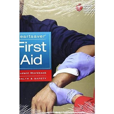 Heartsaver First Aid Student Workbook, New Book (9781616690182)