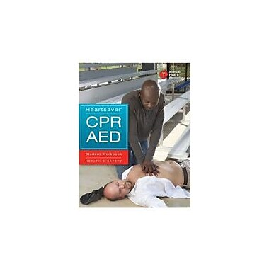 Heartsaver CPR AED Student Workbook, New Book (9781616690588)