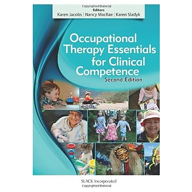 Occupational Therapy Essentials for Clinical Competence, New Book (9781617116384)