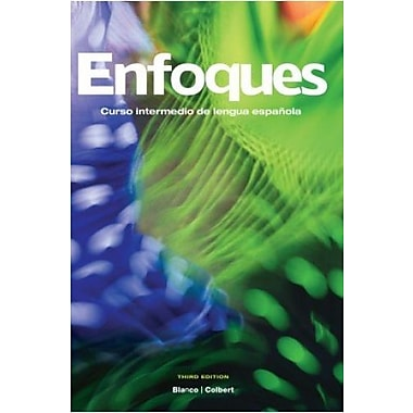 Enfoques, 3rd Edition, Student Edition w/ Supersite Plus Code (Supersite, WebSAM & vText), New Book (9781617670190)