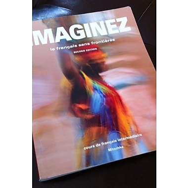 Imaginez, 2nd Edition, Student Edition w/ Supersite PLUS Code (supersite, WebSAM and vText), New Book (9781617670435)