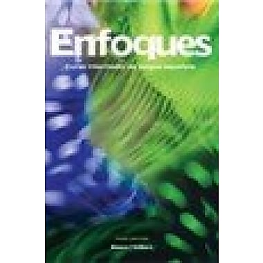 Enfoques, 3rd Edition, Looseleaf Textbook with Supersite Code, New Book (9781617672132)