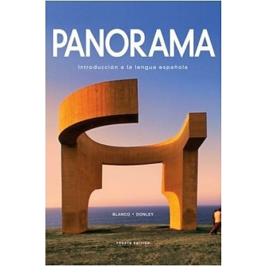 Panorama, 4th Edition, Student Edition with Supersite Plus Code (Supersite & WebSAM & vText), New Book (9781617677441)