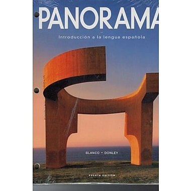 Panorama, 4th Edition, Looseleaf Student Edition w/ Supersite Plus Code (Supersite, vText & WebSAM), New Book (9781617677632)