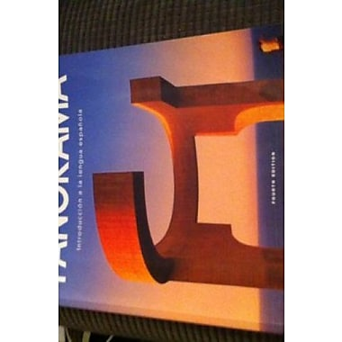 Panorama, 4th Ed, Student Edition Vol 1. (Lessons 1-8) and Supersite Plus Code, New Book (9781617678042)