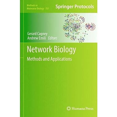 Network Biology: Methods and Applications (Methods in Molecular Biology), New Book (9781617792755)